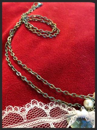 Winter key chain